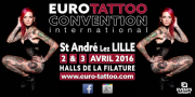 euro-tattoo convention Saint-andré-lez-lille