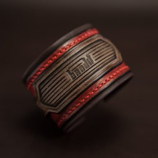 bracelet rock cuir homme custom 03