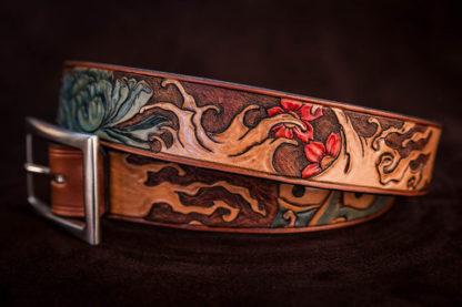 ceinture-cuir-bandit-motifs-japonais-02