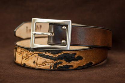 ceinture cuir personnalisée tattoo