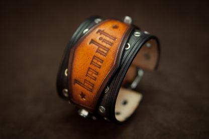 bracelet homme cuir vintage bandit