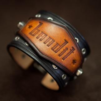 bracelet en cuir fait main