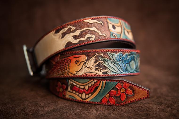 ceinture-cuir-prestige-personnalisee