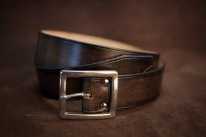 ceinture cuir noir de costume