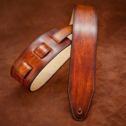 sangle guitare en cuir personnalisée
