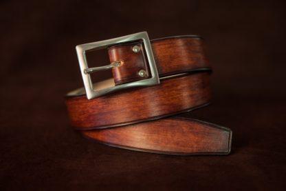 boucle ceinture rectangle brossé