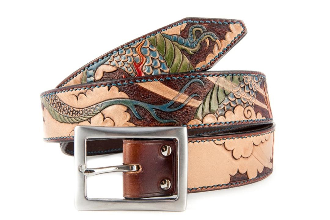 ceinture dragon bleu edition prestige