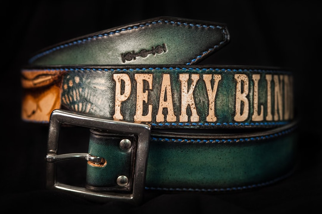 cuir ceinture homme doublée
