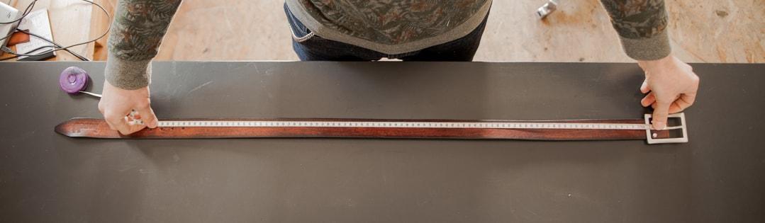 comment mesurer ceinture