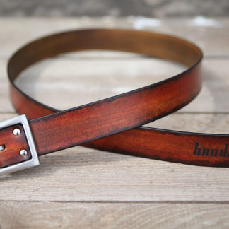 ceinture cuir homme logo Bandit