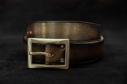 ceinture cuir boucle acier inox resistante