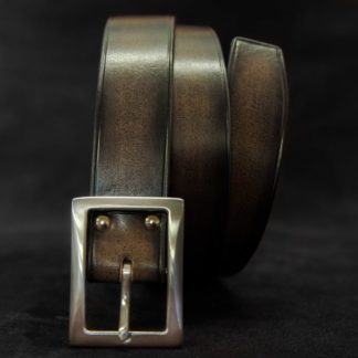 ceinture cuir noire de costume homme