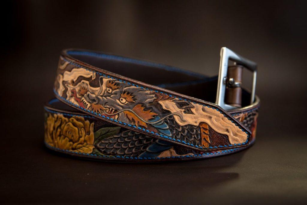 ceinture tigre et dragon japonais