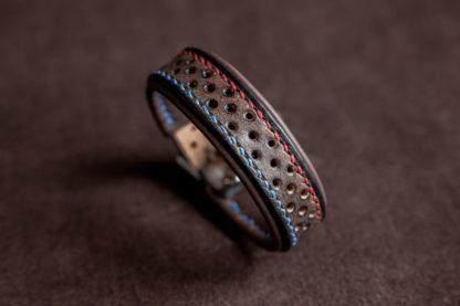 Bracelet cuir fin Slim Scrambler