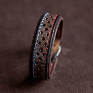 Bracelet en cuir homme Slim Scrambler