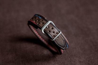 Bracelet en cuir Slim Scrambler