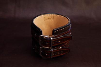 Bracelet de force cuir manchette