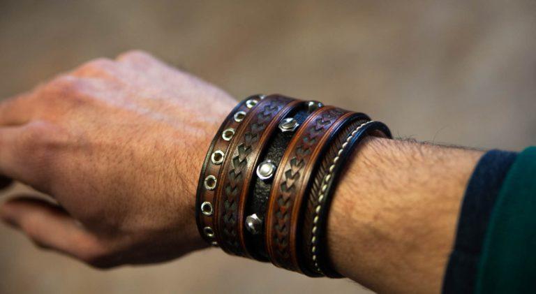 bracelet de force arrow porte sangle cuir