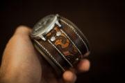 bracelet montre personnalisé gravé maori