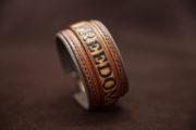 bracelet cuir personnalisé freedom